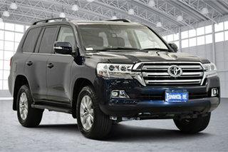 2019 Toyota Landcruiser VDJ200R VX Blue 6 Speed Sports Automatic Wagon.
