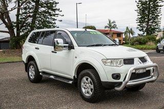 2012 Mitsubishi Challenger PB (KG) MY12 White 5 Speed Manual Wagon.