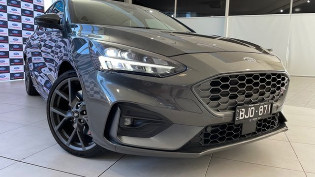 Used Ford Focus SA 2020.25MY ST Deer Park, 2020 Ford Focus SA 2020.25MY ST Magnetic 6 Speed Manual Hatchback