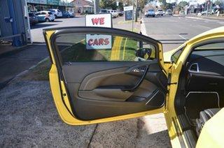2015 Holden Astra PJ VXR Yellow 6 Speed Manual Hatchback
