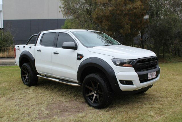 Used Ford Ranger PX MkII XLS Double Cab Ormeau, 2016 Ford Ranger PX MkII XLS Double Cab White 6 Speed Sports Automatic Utility