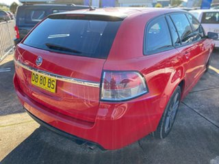 2013 Holden Commodore VF MY14 SV6 Sportwagon Red 6 Speed Sports Automatic Wagon