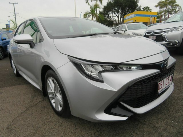 Used Toyota Corolla Mzea12R Ascent Sport Mount Gravatt, 2018 Toyota Corolla Mzea12R Ascent Sport Silver 10 Speed Constant Variable Hatchback