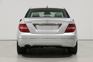 2013 Mercedes-Benz C250 W204 MY13 Avantgarde BE Silver 7 Speed Automatic G-Tronic Sedan