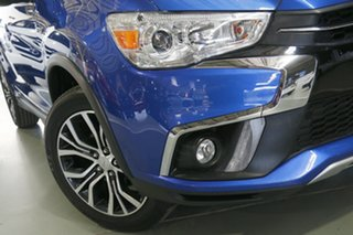 2017 Mitsubishi ASX XC MY17 LS 2WD Lightning Blue 6 Speed Constant Variable Wagon.