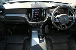 2020 Volvo XC60 UZ MY20 T6 AWD R-Design Silver 8 Speed Sports Automatic Wagon