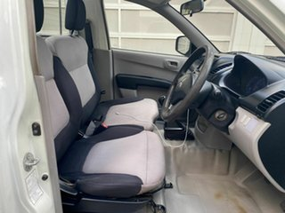 2007 Mitsubishi Triton ML MY07 GLX 4x2 White 5 Speed Manual Cab Chassis