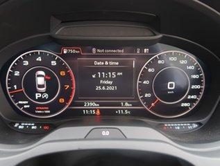 2020 Audi A3 8V MY20 40 TFSI S Tronic Quattro S Line Plus White 7 Speed Sports Automatic Dual Clutch