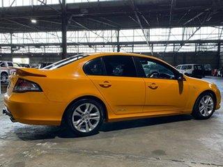 2009 Ford Falcon FG XR6 Orange 5 Speed Sports Automatic Sedan