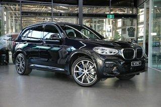 2021 BMW X3 G01 xDrive30i Steptronic M Sport Black 8 Speed Sports Automatic Wagon.