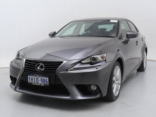 2014 Lexus IS250 GSE30R Luxury Grey 6 Speed Automatic Sedan.