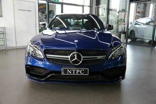 2016 Mercedes-Benz C-Class W205 807MY C63 AMG SPEEDSHIFT MCT S Blue 7 Speed Sports Automatic Sedan