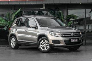 2015 Volkswagen Tiguan 5N MY15 118TSI DSG 2WD Beige 6 Speed Sports Automatic Dual Clutch Wagon.