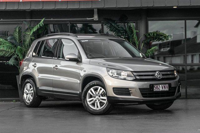 Used Volkswagen Tiguan 5N MY15 118TSI DSG 2WD Bowen Hills, 2015 Volkswagen Tiguan 5N MY15 118TSI DSG 2WD Beige 6 Speed Sports Automatic Dual Clutch Wagon