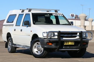 2000 Holden Rodeo TF R9 LX Crew Cab 4x2 White 4 Speed Automatic Utility.