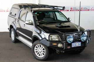2012 Toyota Hilux KUN26R MY12 SR5 (4x4) Metal Storm 4 Speed Automatic Dual Cab Pick-up.