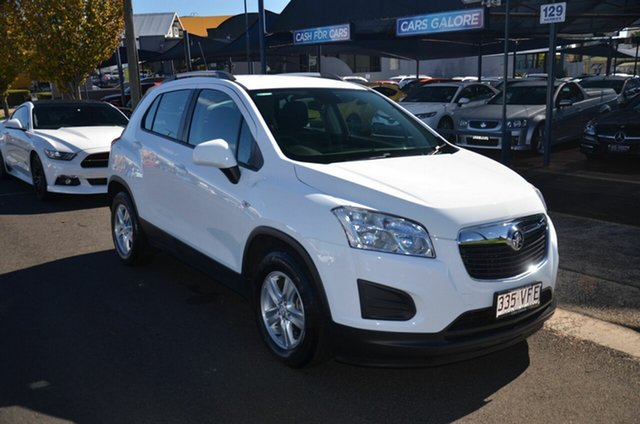 Used Holden Trax TJ MY15 LS Toowoomba, 2014 Holden Trax TJ MY15 LS White 6 Speed Automatic Wagon