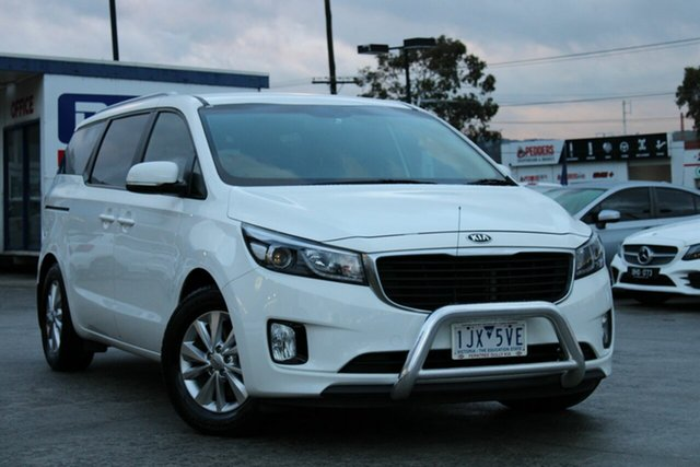 Used Kia Carnival YP MY17 SI Ferntree Gully, 2017 Kia Carnival YP MY17 SI White 6 Speed Sports Automatic Wagon