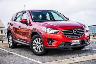 2016 Mazda CX-5 KE1022 Maxx SKYACTIV-Drive AWD Sport Red 6 Speed Sports Automatic Wagon.