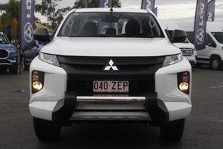 2019 Mitsubishi Triton MR MY19 GLX Double Cab ADAS White Solid 6 Speed Sports Automatic Utility