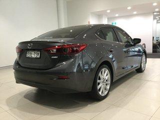 2018 Mazda 3 BN5238 SP25 SKYACTIV-Drive GT Machine Grey 6 Speed Sports Automatic Sedan.
