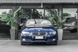 2008 BMW 3 Series E93 MY08 325i Steptronic Blue 6 Speed Sports Automatic Convertible.