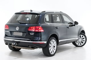 2017 Volkswagen Touareg 7P MY17 V6 TDI Tiptronic 4MOTION Blue 8 Speed Sports Automatic Wagon.