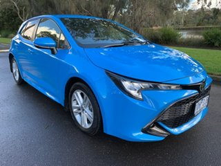 2018 Toyota Corolla Mzea12R SX Blue Constant Variable Hatchback.