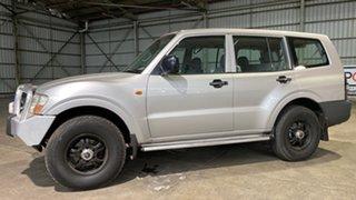 2000 Mitsubishi Pajero NM GLX Silver 5 Speed Manual Wagon.