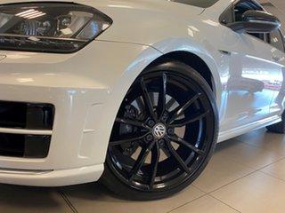 2015 Volkswagen Golf AU MY16 R Wolfsburg Edition Oryx White Pearl 6 Speed Direct Shift Wagon.