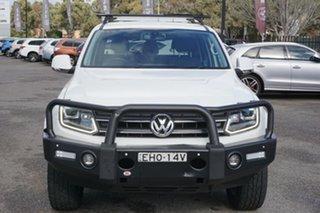 2016 Volkswagen Amarok 2H MY16 TDI400 4Mot Highline White 6 Speed Manual Utility.