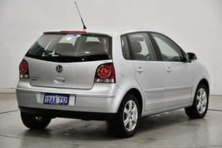 2009 Volkswagen Polo 9N MY2009 Pacific Silver 5 Speed Manual Hatchback