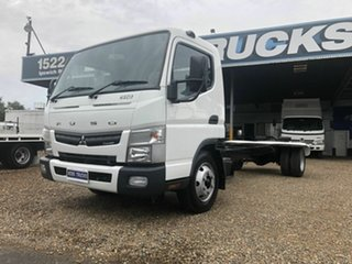 2012 Fuso Canter 918 White Cab Chassis 3.0l.