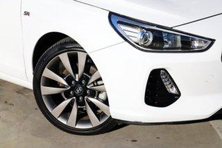 2017 Hyundai i30 PD MY18 SR White 6 Speed Manual Hatchback