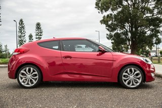 2012 Hyundai Veloster FS Coupe D-CT Red 6 Speed Sports Automatic Dual Clutch Hatchback