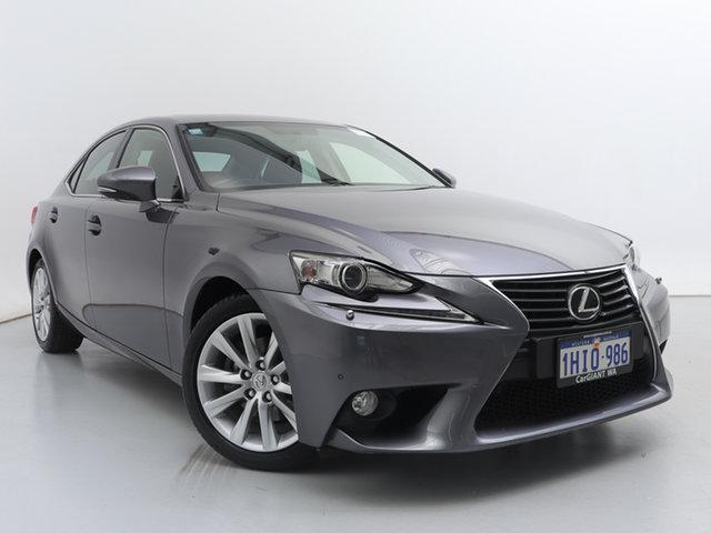 Used Lexus IS250 GSE30R Luxury, 2014 Lexus IS250 GSE30R Luxury Grey 6 Speed Automatic Sedan