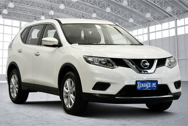 Used Nissan X-Trail T32 ST X-tronic 2WD Victoria Park, 2016 Nissan X-Trail T32 ST X-tronic 2WD White 7 Speed Constant Variable Wagon