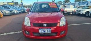 2007 Suzuki Swift RS415 GLX Red 4 Speed Automatic Hatchback.