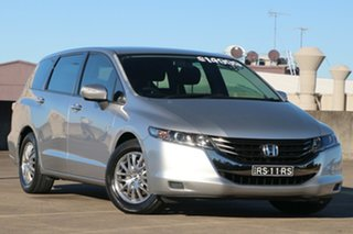 2009 Honda Odyssey 4th Gen MY09 Silver 5 Speed Sports Automatic Wagon.