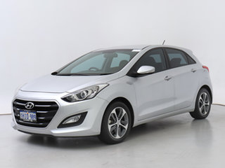 2015 Hyundai i30 GD3 Series 2 Active X Silver 6 Speed Automatic Hatchback.
