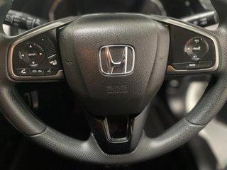 2017 Honda Civic 10th Gen MY17 VTi White 1 Speed Constant Variable Hatchback