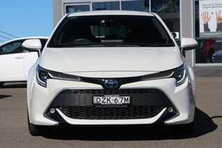 2019 Toyota Corolla Mzea12R ZR Pearl White 10 Speed Constant Variable Hatchback