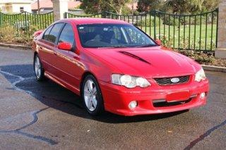 2003 Ford Falcon BA XR8 Red 4 Speed Auto Seq Sportshift Sedan.