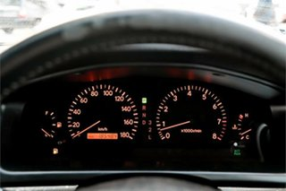 1998 Toyota Chaser JZX100 Tourer V Green 4 Speed Automatic Sedan