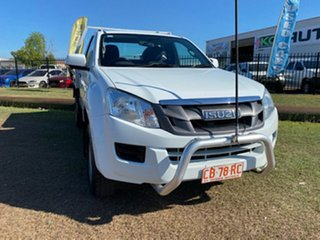 2015 Isuzu D-MAX MY15 SX 4x2 White 5 Speed Manual Cab Chassis.