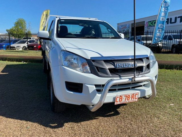 Used Isuzu D-MAX MY15 SX 4x2 Berrimah, 2015 Isuzu D-MAX MY15 SX 4x2 White 5 Speed Manual Cab Chassis