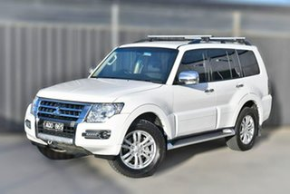 2017 Mitsubishi Pajero NX MY18 GLX White 5 Speed Sports Automatic Wagon.