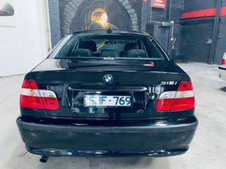 2003 BMW 3 Series E46 MY2003 318i Steptronic Black 5 Speed Sports Automatic Sedan