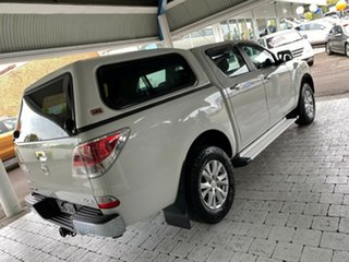 2012 Mazda BT-50 GT Cool White Sports Automatic Dual Cab Utility