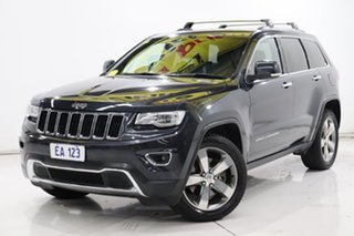 2013 Jeep Grand Cherokee WK MY2013 Limited Blue 5 Speed Sports Automatic Wagon.